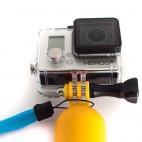 MadMan Plovoucí ruční držák pro GoPro žlutý